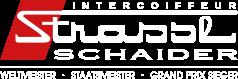Intercoiffeur Strassl Schaider Logo 2018 white